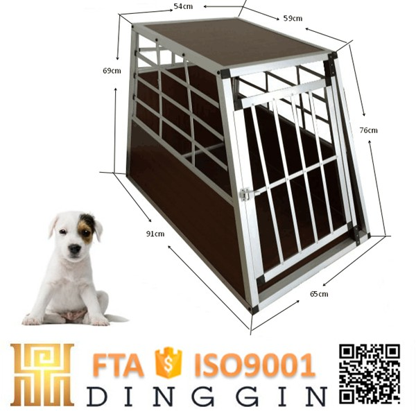 Custom car aluminum dog cage
