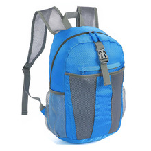 25L Blue Lightweight Waterproof Sports Travel Backpack Foldable and Packable Daypack