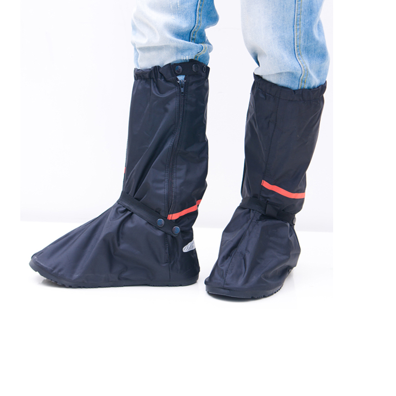 motorcycle oxford pvc washable rain boots with elastic contraction