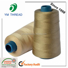 100% Polyester 20/2 20/3 Hair Weaving Thread