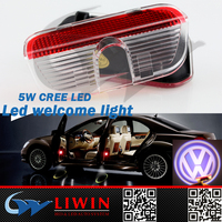 LW waterproof Led old car logos wholesaler car logos with names welcome light