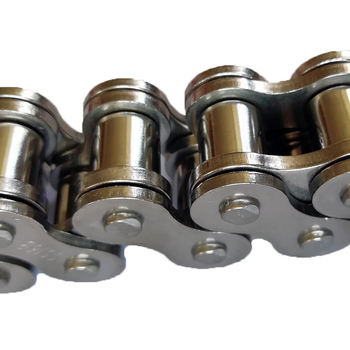 24B MN40 Steel Transmission Chain For Sprockets