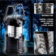 Portable Ultra Bright Camping Lantern 30 LED Bivouac Hiking Camping Light Lamp