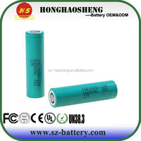 New promotion mod battery 1865 li ion 2000mah 20A rechargeable battery