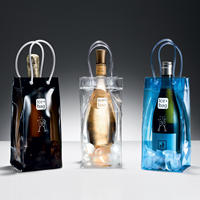 China Eco-friendly Waterproof Plastic portable wine cooler bag
