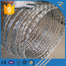 low price finished goods and materials concertina razor barbed wire
