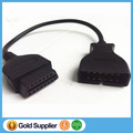 Newest OBD/OBD2 Connector for GM 12 Pin Adapter to 16Pin Diagnostic Cable 12Pin For GM Vehicles