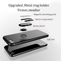 DFIFAN newest arrival ring holder case for iphone 7 8 , matte tpu solid color phone case for iphone 7 plus