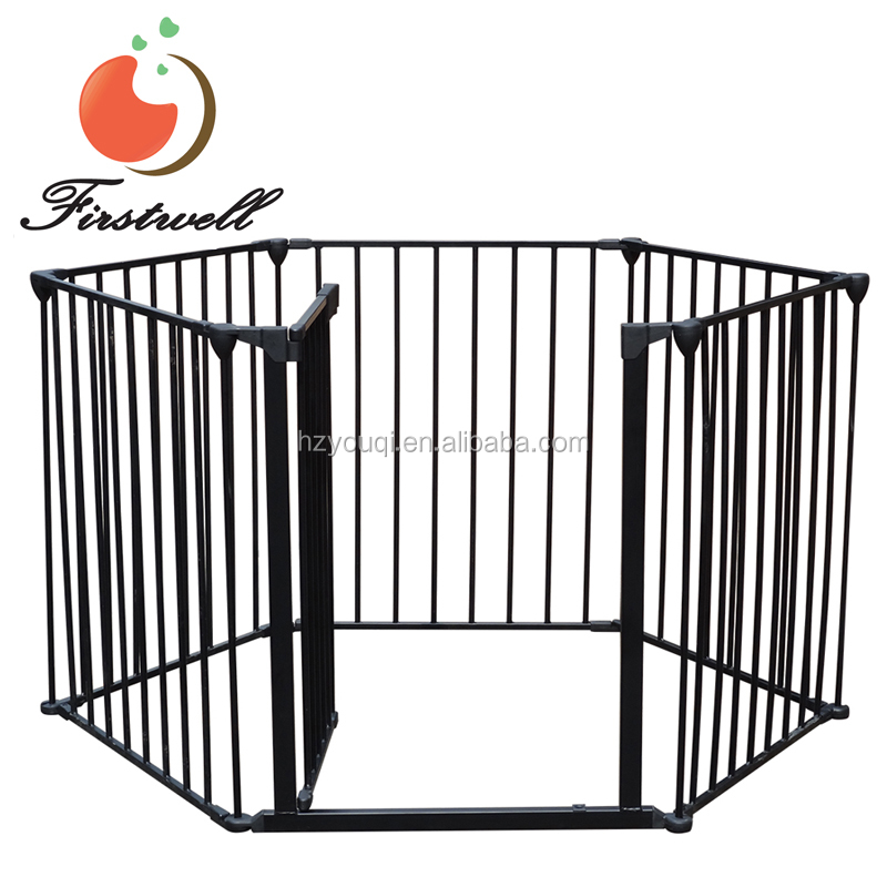 New Fireplace Safety Gate Play Yard Baby Playpen North States Super yard 3 in 1 Metal Gate