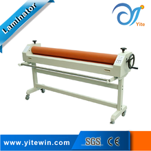 Both automatic and manual cold roll laminator 1600 vinyl cold laminating machine