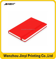 Wholesale Cheap Custom A5 Leather Hard Cover Note book