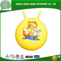 Eco-Friendly PVC skip ball toy ball