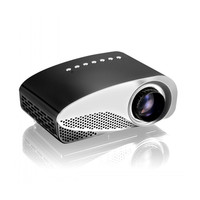 New GP8S Portable Mini HD Home Theater Dual HDMI Interfaces Fashion Projector Easy Projection for Your Private Cinema