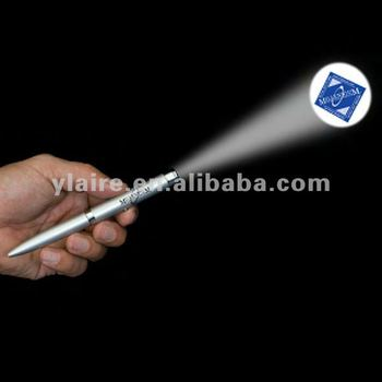 led laser logo projector pen