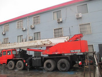 Japan used crane Tadano 50 Ton for sale, used truck crane