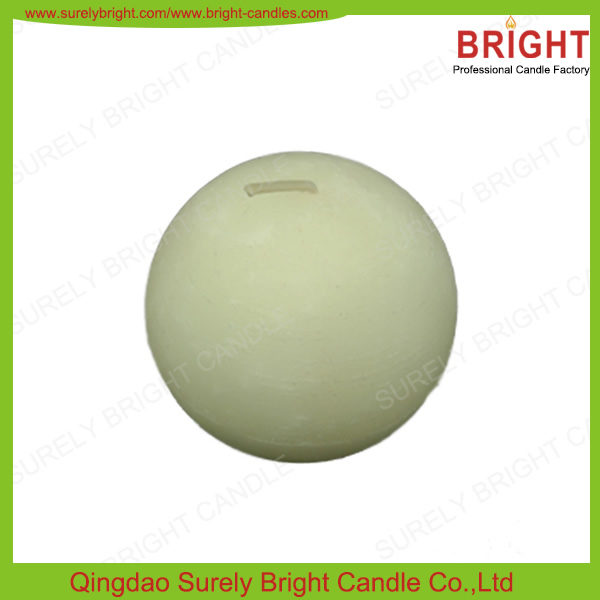 White Round Ball Candles/Round Shape Candles
