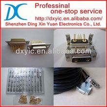 D-Sub Connector DSUB POWER STB 3W3 SOCK DAV3W3SA00LF