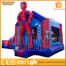 Hot adult bounce house for sale craigslist spiderman inflatable bounce house