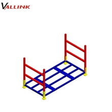 Experienced Factory Semi Trailer Spare Tire Rack