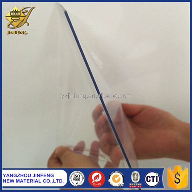 Plastic 4'x8' Transparent PVC Materials for Photo Album
