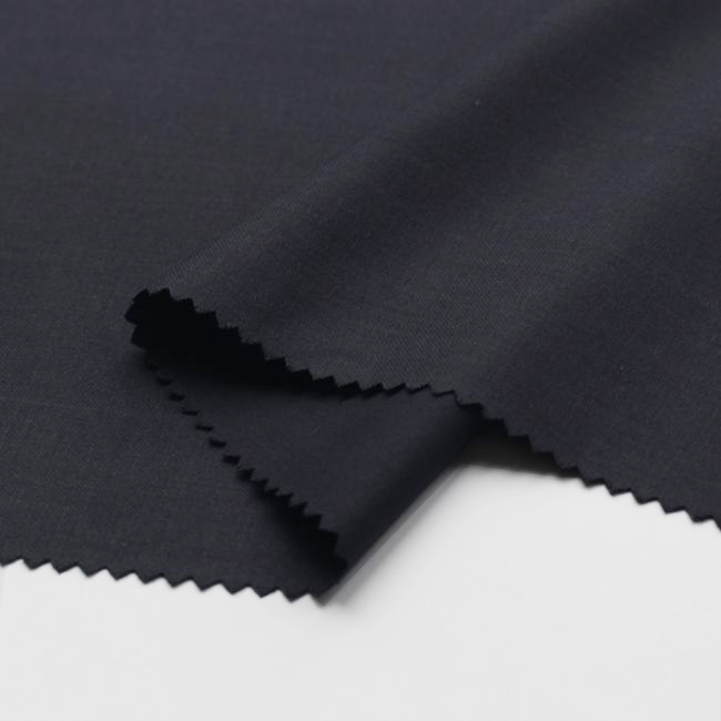 High quality 028 TR 80/20 Twill Suit Fabric 32S/1*32S/1 Uniform fabric