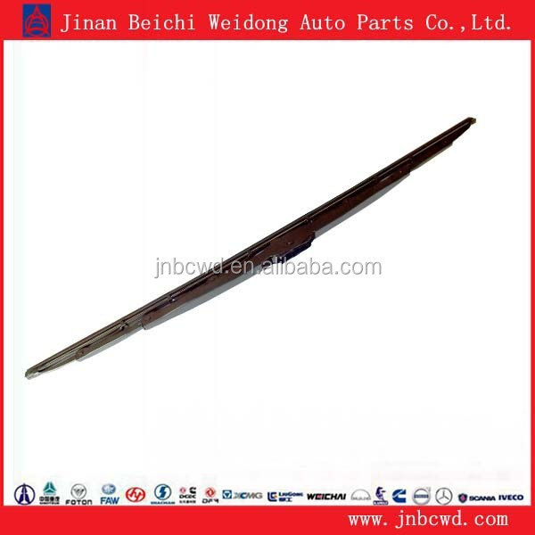 Heavy truck spare parts double windshield wiper blade