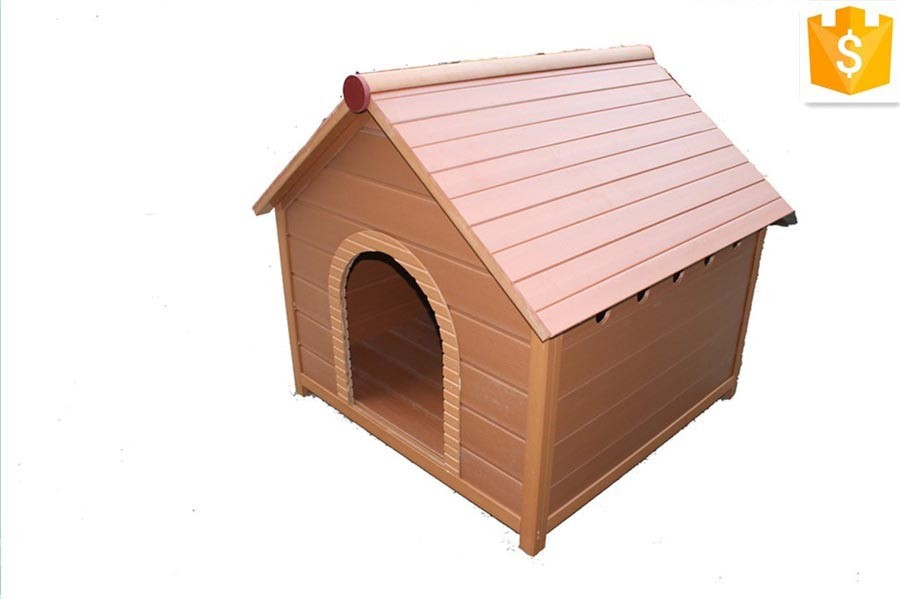 PS waterproof wooden dog house