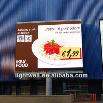 new technology!!!!!2013 New product P20 full color Outdoor Billboard Advertising led display screen led video