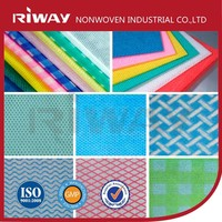 viscose polyester 100%cotton mesh dyed printed spunlace nonwoven fabric roll for wet wipes towel and clean cloth wipes