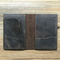 Factory Classic Genuine Leather Personalized Passport