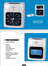 amano time recorder and electronic time recorder nideka