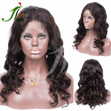 Free Shipping Cheap Remy Wet and Body Wavy Indian Lace Front Wig Human Hair with Baby Hair