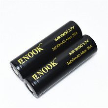 Good quality li ion battery rechargeble battery Enook 18650 3600mAh 35A 3.7v battery for vaping electric bike electric tools