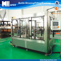 Complete alkaline drinking water bottling line