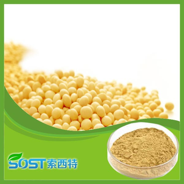 Factory suply Natural plant Soy isoflavones p.e