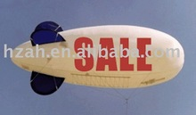cheap sky balloon for promotion/advertising helium blimp/helium plane