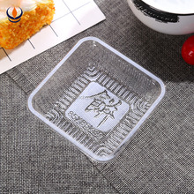 OEM design pop disposable cake slice packaging tray