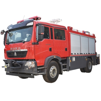 310HP HOWO Fire Rescue Vehicle Euro3/4/5