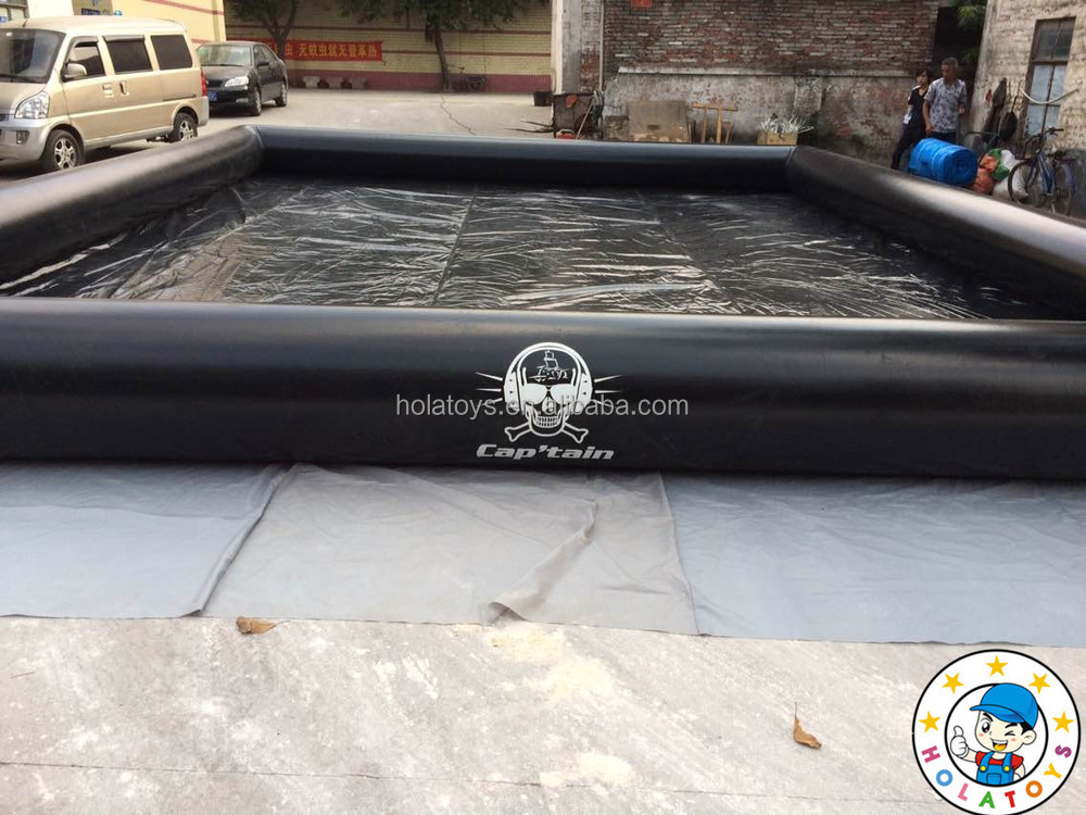 Black inflatable pools/inflatables swimming pool for sale