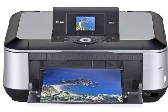 PIXMA MP620 Wireless Photo All-in-One Printer, Scanner and Copier With Ethernet Connectivity