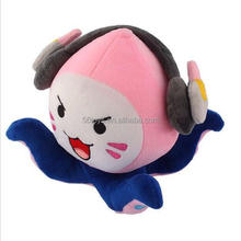 20CM Overwatches Game Plush Toys Onion Small Squid Stuffed Plush Doll