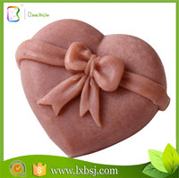 Promotion Gift Soap / Wedding Color Heart Shape Scented Soap