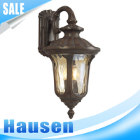 New design European style antique vintage glass industrial rustic lighting wall lamp