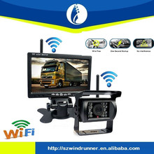 12V Car Rear View Wireless Backup Camera Kit + 7 inch LCD Monitor For Truck / Van