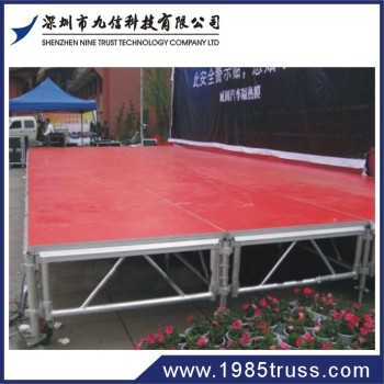 Portable concert aluminum stage scene on sale