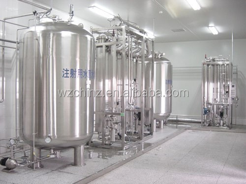 Distilled water store tank