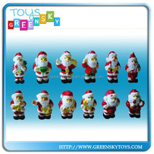 mini plastic pvc christmas figurine