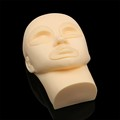 Permanent makeup mannequin head training head for permanent makeup with lip and eyes replacebale