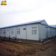 steel structure fast assembly modular construction prefab poultry farm house