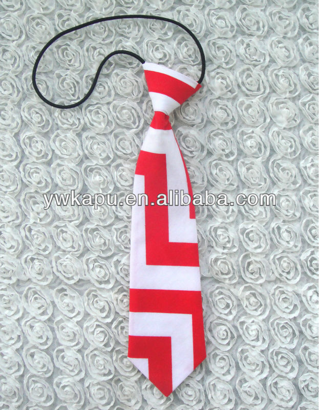 Hot selling cotton chevron baby ties